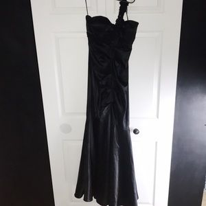 Cache Dresses - ♡ CACHE VINTAGE BEADED RARE ONE SHOULDER GOWN ♡